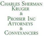 Charles Sherman Kruger And Prosser Inc