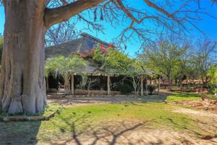 This farm is situated 100km from Louis Trichardt.  Chalets, 3 bedroom thatched house, 2 ground dams, game breeding camp, 2x borehole.  ...