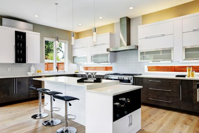 two tone kitchen trend how to upgrade your cabinets building