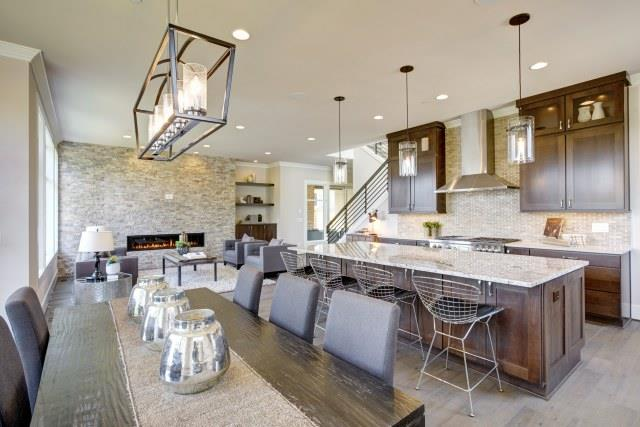 Great Ways For Lighting A Kitchen: 5 Smart And Stylish Ways To Divide Open-plan Spaces