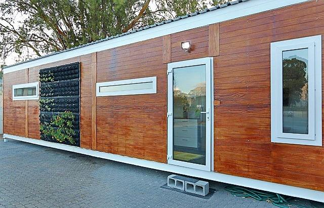 You can now live off the grid in a modular home from R399k