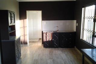 Nuut gebou met meubels. 1 slaap kamer kombuis en lekker oopplan met pragtige badkamer, stort wasbak en plek vir wasmasjien. Geskik vir ...