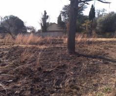 Vacant Land / Plot for sale in Riversdale