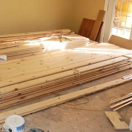 Diy You Can Install Pine Wood Flooring In 4 Easy Steps