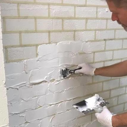 Diy Create A Faux Brick Feature Wall In 7 Easy Steps Diy Lifestyle