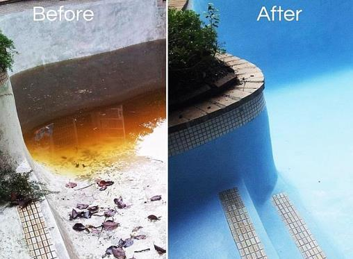 How to repair your pool without replastering it
