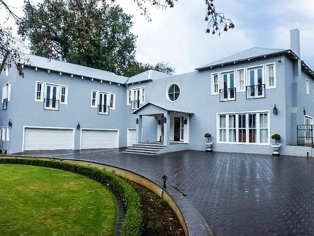 Of the most expensive homes now for sale in johannesburg