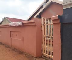 House for sale in Sebokeng Zone 14