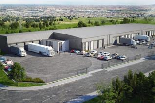 These still to be built warehouse and office units are available towards the end of 2019 ...