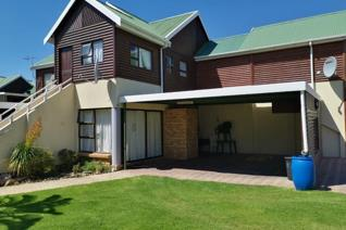 Price: R900 000,00  This 2 bedroom double story cluster home is situated in a complex with communal pool and tennis court and ...