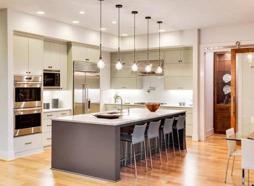 Modern kitchen countertops: Sleek, natural and low maintenance