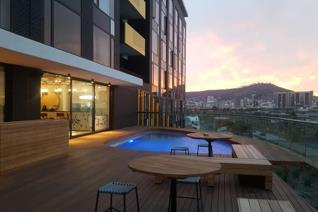 A mountain facing studio apartment in the new luxury development, The Wex - absolutely breathtaking views!  WEX1 is an iconic new ...