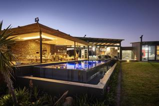 Featured in SA Home Owner Magazine the striking use of design and natural materials as ...