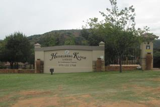 his beautiful stand is situated in the sought after Heidelberg Kloof Estate!  A tranquil hideaway nestled in the Suikerbosrand only 30 ...