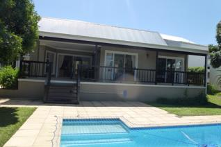 Furnished family home consisting of 3 bedrooms in main house with 2 bathrooms, main en ...