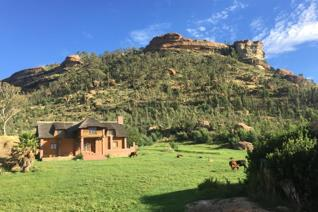 Astonishingly beautiful farm situated close to Clarens in the Free State. The farm has extensive ecotourism and farming potential with ...