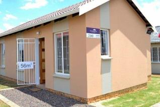 Affordable house for sale in Savanna City.  This new house comes with: SANS ...