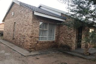 This is a two bedroomed house  with open plan lounge and kitchen, combined bath and toilet. It has enough space for extensions. This is ...