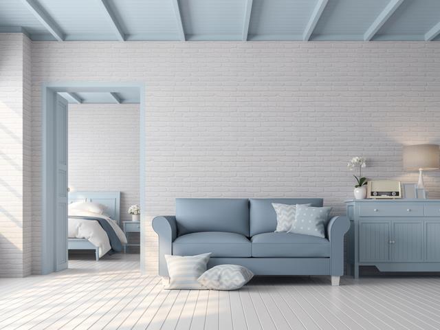 Clever Design Tricks Paint Your Ceiling A Different Colour Decor