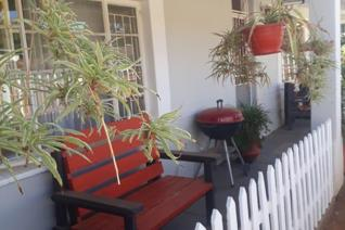It is cozy and neat. It has 3 bedrooms, a lounge, kitchen, and 1 garage. There is an outside bar with an under roof braai area that can ...