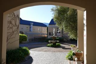 Cobbled walkways, water features, pergolas and lavender create the magical setting for ...