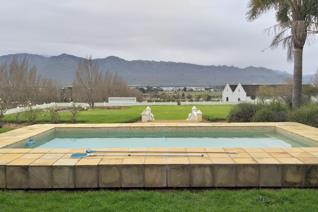 Farm comprising of 3 portions with a total extent of 4,9581 hectares, located on the R45 between Paarl and Franschhoek close to the ...