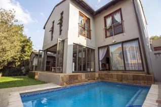 EXCLUSIVE MANDATE: This well designed modern home is situated in Midstream Proper with 4 spacious bedrooms of which one can be an ...