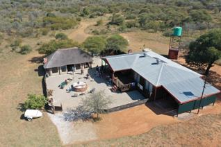 Unique opportunity to be a 25% time share partner in a 100ha game farm close to Marble ...