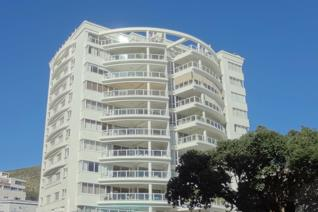 Set majestically in excellently maintained and prestigious Sea Point complex.  Offering ...