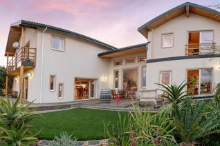 A dazzling beautiful eco and earth-conscious home by design and construction, situated ...