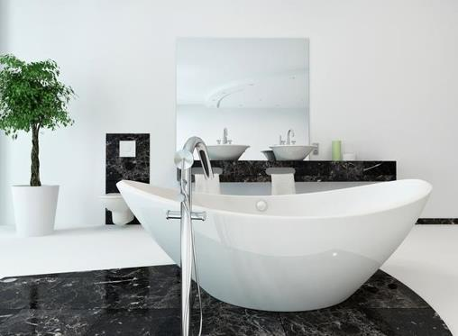 Choose the right tub to make your small bathroom luxurious