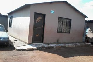 Very affordable  property in a lovely area in Zonkizizwe  offers  two bedrooms,dining ...
