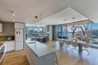 Sensational 2 bedroom apartment overlooking Harbour in Silo 3  This stylish and contemporary apartment consists of two bedrooms en ...