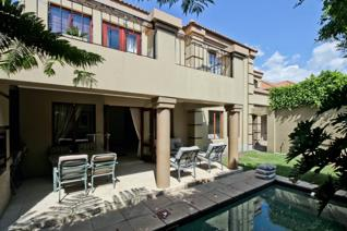 Furnished corporate cluster home situated in secure access controlled suburb!  Wifi and ...