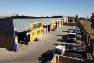 Mini factory ideally suited for a small business situated in the popular Aureus ...