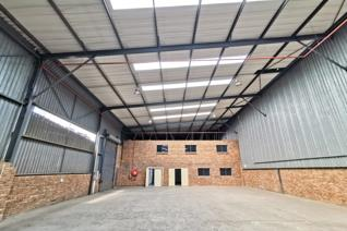 This attractive warehouse and office facility is available for sale or rental at R52/m² (Excluding VAT)  Measuring 2 292m² of ...