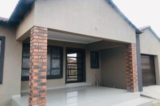 This newly built house consists of a spacious living and dining area, kitchen, 3 bedrooms, 2 full bathrooms.   Though it's a shell ...