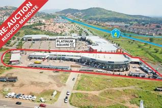 Prime Retail / Service Centre Showroom Centre Waterfall Rustenburg Fronts onto N4 Off-ramp Great business exposure GBA: ± 8 ...