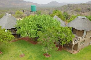 #NWR 66774-The beautiful income generating property is situated in the scenic area of Boschhoek. This 300 ha property features an 18 ...