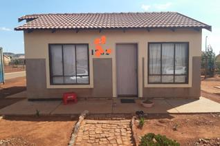 Modern low cost house with a huge corner stand. Future potential of Tuck shop.  Listen ...