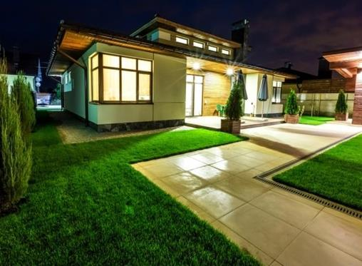 Bring your outdoor spaces 'alive at night' with lighting tips
