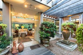 This gorgeous, unique property with thoughtful design, offers absolute tranquility with ...