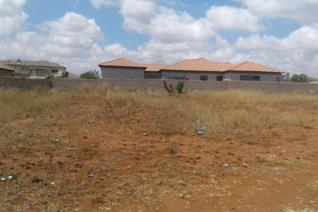 If you want to build your dream home in of the most a sought after estate in Polokwane, then this one is for you. This 770 sqm stand is ...