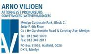 Arno Viljoen Attorneys