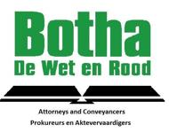Botha De Wet & Rood