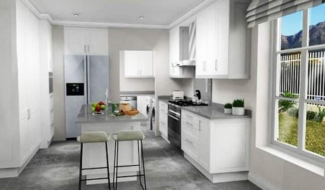 Luxury homes from nearly sold out in newlands cape for Kitchen fittings cape town