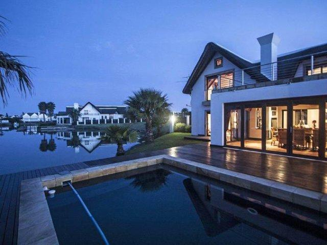 6 gorgeous canal-side mega homes in St Francis Bay
