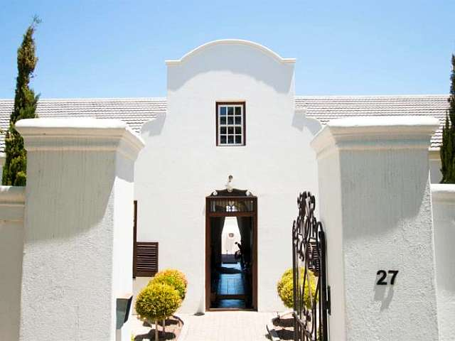Own This Cape Dutch Style Home In Somerset West For R6 2m Market