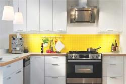 how to clean grease off glass splashback