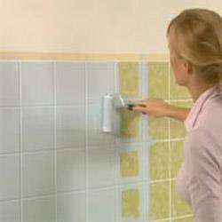 Paint from side to side and top to bottom to ensure even coverage over the wall.